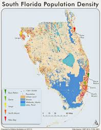 Map Of South Florida by There And Back With Gis Cartography Module 10 U2013 Dot Density Mapping