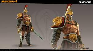 breakaway warrior design spartacus