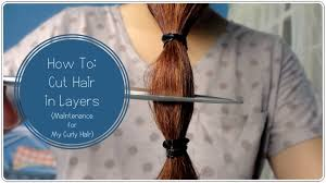 how to cut your own curly hair in layers ideas about how to layer cut your own hair cute hairstyles for