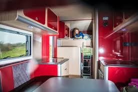 motorhome interior photoshoot retro tourer