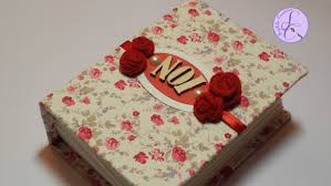 fabric photo album tutorial album in tessuto per san valentino fabric photo album