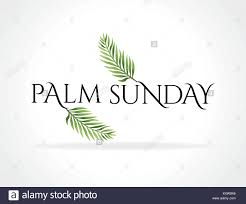 palm branches for palm sunday a christian palm sunday religious with palm branches and