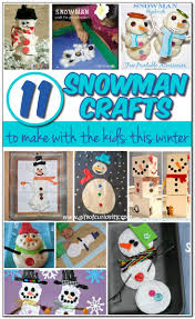11 snowman crafts to make this winter gift of curiosity