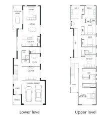 narrow house plan narrow house designs impressive ideas floor plan for narrow house