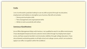 profile resume exles sle resume profile fresh best solutions resume profile personal