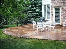 Backyard Stone Patio Ideas by Download Flagstone Backyard Garden Design