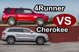 2017 jeep highlander 2015 toyota 4runner vs 2015 jeep grand cherokee design youtube