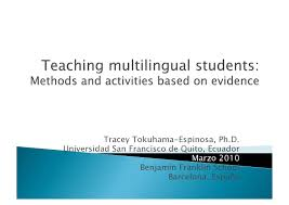 evidence based teaching tracey tokuhama espinosa by universidad