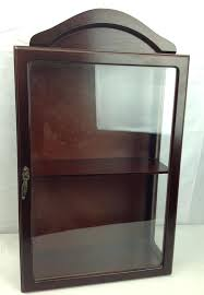 wall mounted curio cabinet wall curios cabinet andikan me