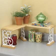 Bathroom Shelf Organizer by Wood U0026 Iron Kitchen Bathroom Counter Corner Shelf Organizer Spice