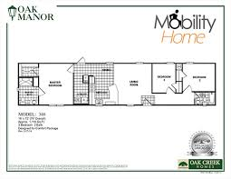 Mobile Home Floor Plans by Mobility Homes Ada Friendly Home Designs
