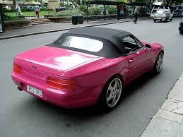 porsche pink pink metallic porsche 968 cabriolet 2 madwhips