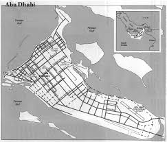 Uae Blank Map by