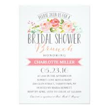 bridal brunch shower invitations custom wedding bridal shower invitation cards postcards