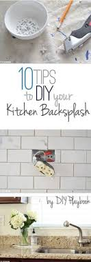 installing a backsplash in kitchen how to install a kitchen backsplash the best and easiest