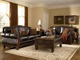 ashley leather sofa best 25 ashley furniture showroom ideas on