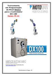 dx100 robot controller manual