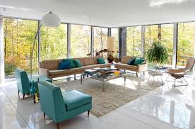 living room stylish furniture blue accent chairs for living room