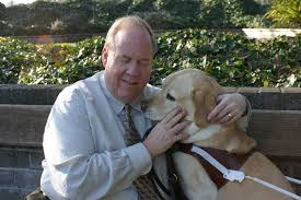 Blind Dog And His Guide Dog Oct 8th Greek Life Lectureship Story Of Courage Services For