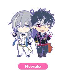 r e nendoroid plus idolish7 unit rubber re vale
