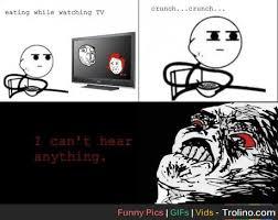 Cereal Meme - cereal guy meme watching tv trolino