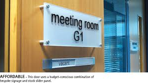 glass door signs internal door signs and name plates u2013 a signage guide