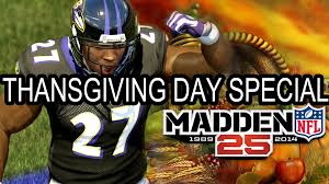 madden 25 xbox one thanksgiving day special pittsburgh steelers