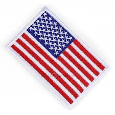 Free American Flag Stickers Dropship Usa Flag Tactical Patch Embroidery Magic Paste Sticker To