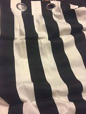 Black And White Striped Curtains Ikea Ikea Striped Curtains Drapes U0026 Valances Ebay