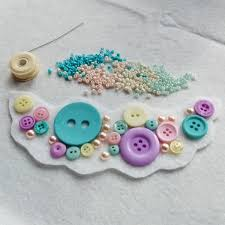 How To Make Jewelry Beads At Home - how to make a bead embroidery statement necklace