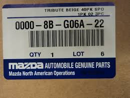 Amazon Com Mazda Tribute 2001 2004 New Oem Beige Carpeted Floor
