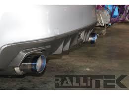 subaru xt 1989 invidia n1 catback exhaust titanium tips wrx sedan 2008 2014