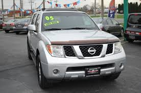used nissan pathfinder 2005 nissan pathfinder se silver suv 4x4 sale washington auto