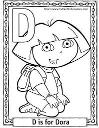 28 cartoon color pages dora images coloring pages dora