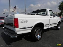 1992 Ford F150 1992 Oxford White Ford F150 Xlt Regular Cab 4x4 30935660 Photo 3