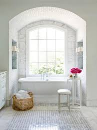 bathroom tile ideas white tub interior design