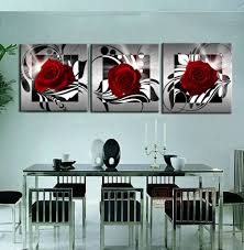 Framed Art For Dining Room by Popular Framed 3 Piece Canvas Painting Buy Cheap Framed 3 Piece