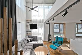 Houses With Lofts by Chic Scandinavian Loft Interior