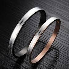 Personalized Bangle Bracelet Custom Engraved Couples Bangle Bracelets Gifts Set For 2