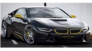 Bmw I8 Blacked Out - manhart wants to modify the bmw i8 top gear