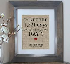 wedding gift for days together personalized gift for boyfriend gift