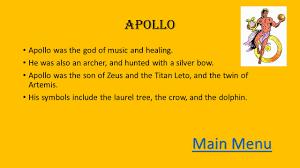 introduction to the 10 major greek olympians 8 th grade mythology