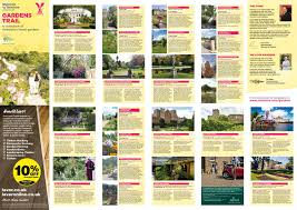 Walled Garden Ripon by Yorkshire Garden Trail Map By Welcome To Yorkshire Issuu