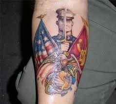 usmc tribal tattoo marine corps pictures fashion gallery
