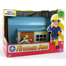 fireman sam mini fire station character options wwsm