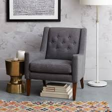 comfy library chairs library chair west elm