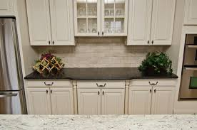 White Cabinets Brown Granite by Leathered Antique Brown Granite And River Valley Granite In Vienna