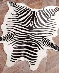 zebra print cowhide rug pictures u2013 home furniture ideas