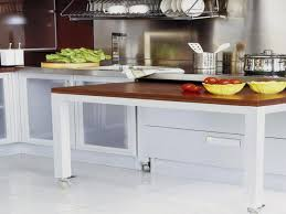 Pull Out Kitchen Table With Concept Image  Ironow - Kitchen pull out table