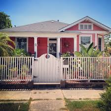 small beach house in galveston texas outside looking on
